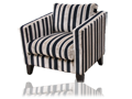 Arm Chair - Liquorice Allsort