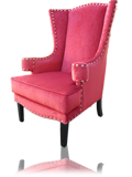 Arm Chair - Alice Wingback